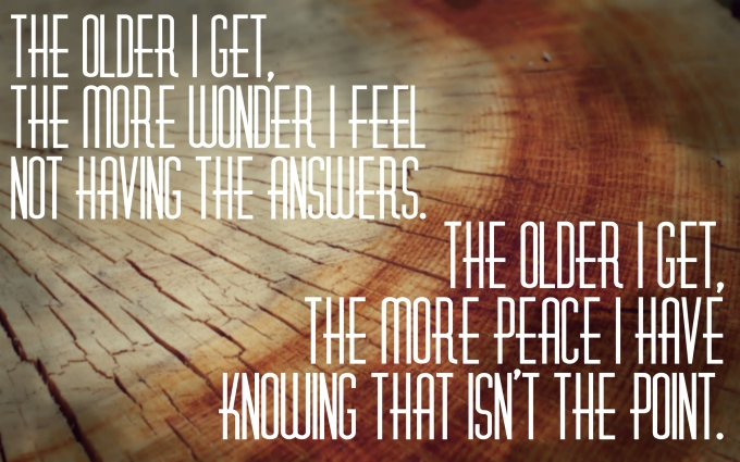 """Quote by Jacque Hammond, """"The Older I Get"""""""